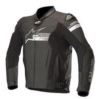 ALPINESTARS giacca in pelle fuji airflow nero
