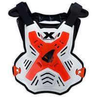 Ufo pettorina x-concept evo senza spalle rosso fluo