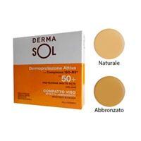 Dermasol protezione solare spf50+ compatto protezione molto alta abbronzat