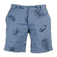 Wemoto pantaloncino Wemoto shorts mick blue stone print