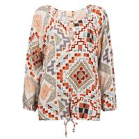 Protest t-shirt a maniche lunghe Protest jenna tunic seashell