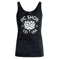 DC Shoes canotta DC Shoes wo's crystal flower tank black