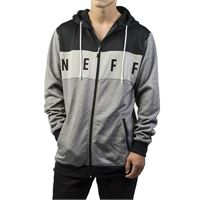 Neff felpa Neff flint shredder dwr charcoal heather