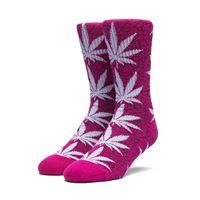 Huf calze Huf quake plantlife crew socks pink