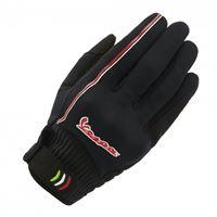 Vespa guanti moto estivi Vespa modernist nero rosso