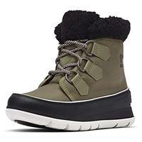 Sorel explorer carnival, scarponcini donna, verde nero hiker green black 371, 42 eu
