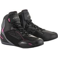 Alpinestars scarpe moto donna Alpinestars stella faster-3 drystar nero rosa