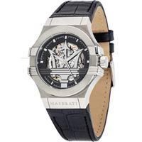Maserati potenza r8821108001 orologio uomo automatico solo tempo