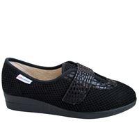 Superga pantofola Superga in tessuto nero