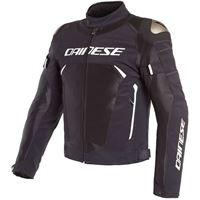 Dainese giacca dinamica air d-dry nero bianco