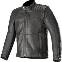 Alpinestars giacca moto pelle Alpinestars crazy eight nero