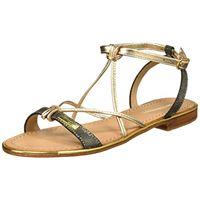 Les Tropéziennes par M. Belarbi hirondel, sandali con cinturino alla caviglia donna, nero (noir irise 555), 39 eu