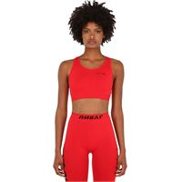 UNRAVEL crop top in techno jersey stretch
