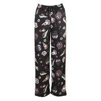SOALLURE abbigliamento donna pantalone stampa multicolor / nero SOALLURE