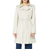 find. marchio amazon - find. trench in cotone donna, rosso (bright red), 52, label: 3xl