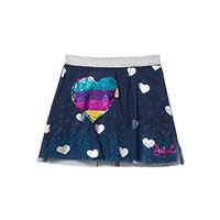 Desigual fal_icono, gonna bambina, (navy 5000)
