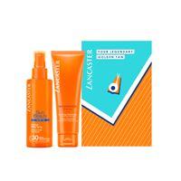 Lancaster sun beauty oil-free milky spray spf30 150 ml gift set