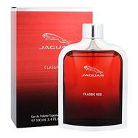 Jaguar classic red eau de toilette 100 ml per uomo
