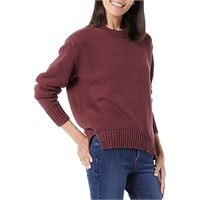 maglione da donna girocollo ampio Marchio maniche raglan Daily Ritual leggero