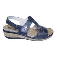 Susimoda sandalo Susimoda blu con plantare estraibile in sughero