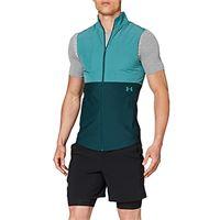 Under Armour vanish hybrid vest, felpa uomo, blu dust, xxl