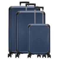 Titan compax set valigie trolley (4 ruote) navy