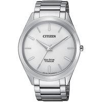 Citizen orologio solo tempo uomo Citizen supertitanio slim; Bj6520-82a