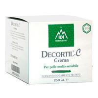 IDI Farmaceutici linea cosmetica decortil c trattamento idratante 250 ml