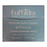 EuPhidra linea personal hydra system intensiva crema viso idratante ricca 50 ml