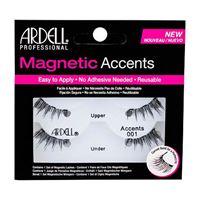 Ardell magnetic accents accents 001 ciglia finte magnetiche 1 pz tonalità black donna