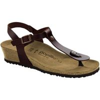 Birkenstock ashley leather cognac sandalo donna
