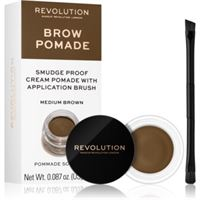Makeup Revolution brow pomade pomata per sopracciglia colore medium brown 2, 5 g