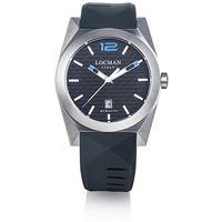Locman orologio solo tempo uomo Locman nuovo stealth 0810a01s-00bksksk
