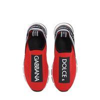 DOLCE & GABBANA sneakers slip-on in maglia