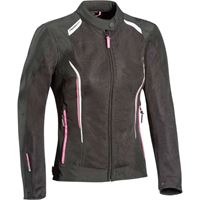 Ixon giacca cool air lady nero bianco fuxia