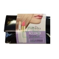 ZETA FARMACEUTICI SpA euphidra make-up eu. Phidra linea make-up base labbra accordi rossetto rz29 + rz15 + pochette nera