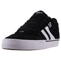 Globe encore-2, scarpe da skateboard uomo, nero (black/white 000), 48 eu