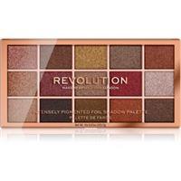 Makeup Revolution foil frenzy palette di ombretti metallici colore fusion 15 x 1,1 g