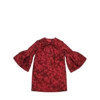 OSCAR DE LA RENTA vestito floreale jacquard