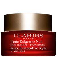 Clarins multi-intensiv crème haute exigence nuit - tutti i tipi di pelle 50 ml
