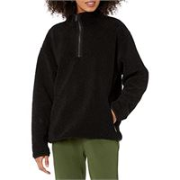 Daily Ritual teddy bear quarter zip jacket outerwear-jackets, reebok cardio motion, us xl (eu 2xl)