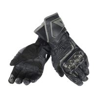 Dainese carbon d1 long gloves black / black / black guanti