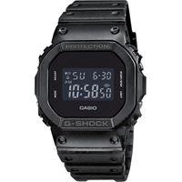 Casio g-shock specials dw-5600 dw-5600bb-1er orologio uomo quarzo digitale cronografo