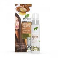 Dr. Organic siero capelli lisci hair treatment serum organic moroccan argan oil 100 ml