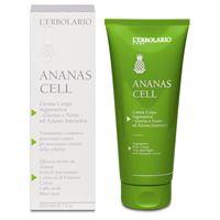 L'Erbolario crema corpo superattiva giorno e notte ananas cell 200 ml