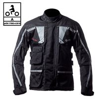 BEFAST giacca moto touring befast touring tech ce certificata 3 strati nero