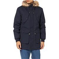 MERAKI marchio amazon - MERAKI uomo amz226 cappotti, blu, xxl