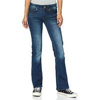 G-STAR RAW midge saddle mid waist bootcut jeans, dk aged 6553, 36w / 28l donna