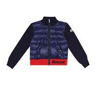 Moncler Enfant giacca con imbottitura in piumino