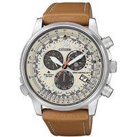 Citizen crono pilot orologio uomo cb5860-35x